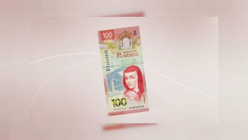 En Yucatán niña intenta vender nuevo billete de 100 pesos para el regalo de su mamá