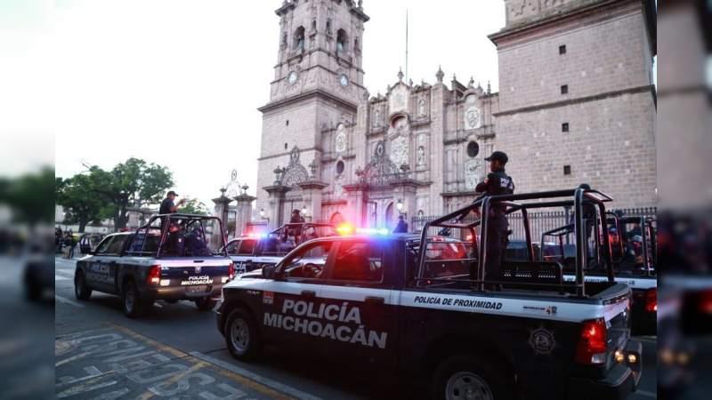 Cierran la circulación a vehículos en el Centro de Morelia
