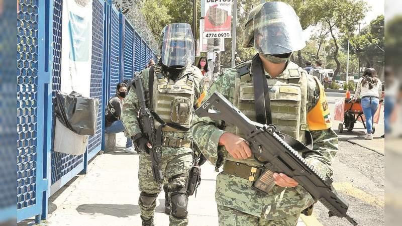 Buscan que elementos de Fuerzas Armadas puedan ausentarse por enfermedad de hijos