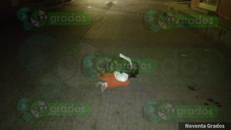 Con tiro de gracia asesinan a un joven en Zamora, Michoacán
