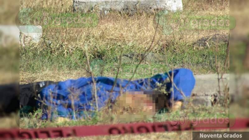 Con un disparo en la cabeza asesinan a un joven en Zamora, Michoacán
