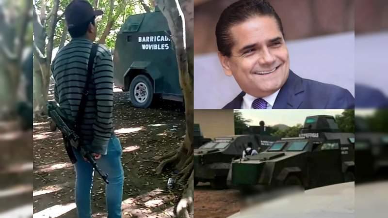 """Reconoce Silvano Aureoles que ha permitido a """"delincuentes disfrazados"""" apoderarse de la entidad"""