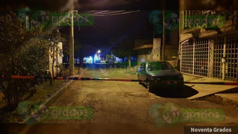 Asesinan a tiros a dos hombres en Jacona, Michoacán