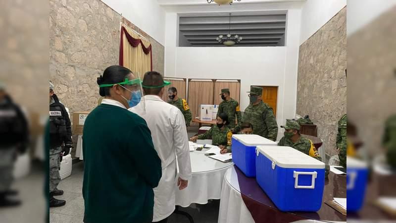 Personal del IMSS Michoacán listo paraaplicar la vacuna contra el Covid-19