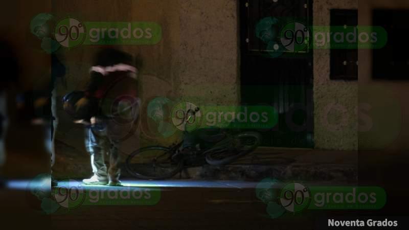 A tiros ultiman a un individuo en Jacona, Michoacán