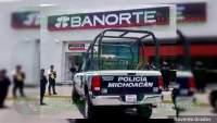 Atracan a una cuentahabiente en Morelia, Michoacán, le quitaron 80 mil pesos