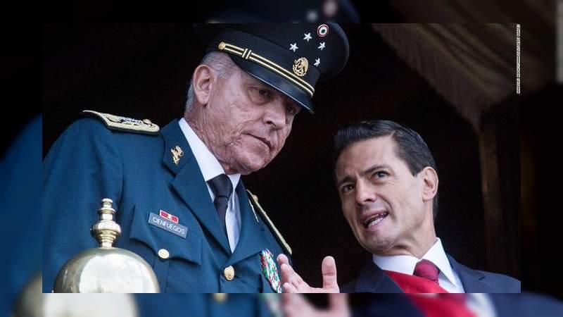 """López Obrador acusa a la DEA de """"fabricar"""" caso contra el general Salvador Cienfuegos"""
