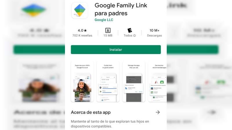 Google crea app Family Link para vigilar el tiempo de uso del celular de tu hijo
