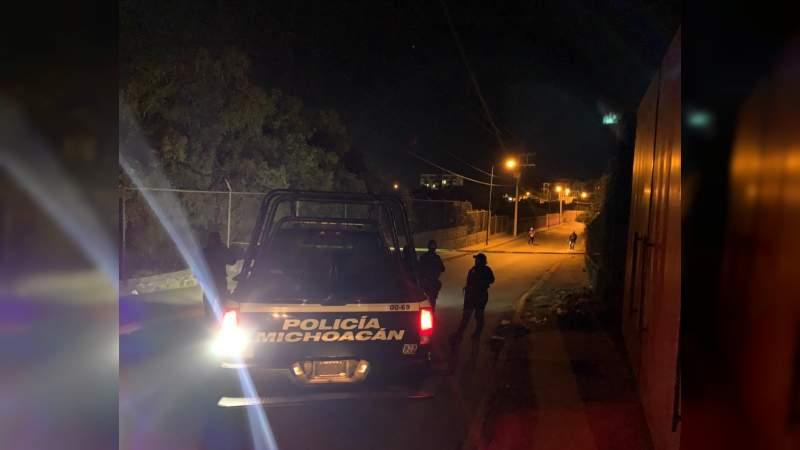De varios balazos asesinan a un hombre en Uruapan, Michoacán