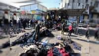32 muertos y más de 100 heridos deja atentado en Bagdag