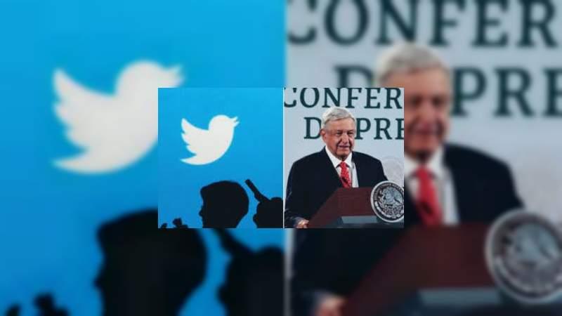 """Twitter manda mensaje a AMLO, """"ninguna persona es responsable por si sola de nuestras políticas"""""""
