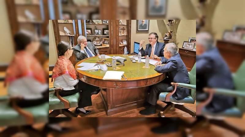 AMLO y Biden celebran el respeto mutuo como base de la relación de México y EU