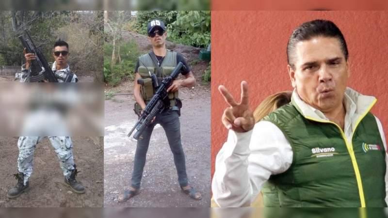 Con uniformes de la Guardia Nacional y lanzagranadas, criminales patrullan Michoacán