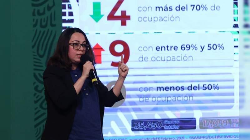 Hasta el momento,  sin  muertes en México por aplicación de vacuna Covid-19: SSA