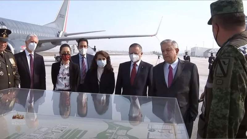 Con avance del 50%, hoy se inaugura pista e instalaciones militares en Base Aérea de Santa Lucía