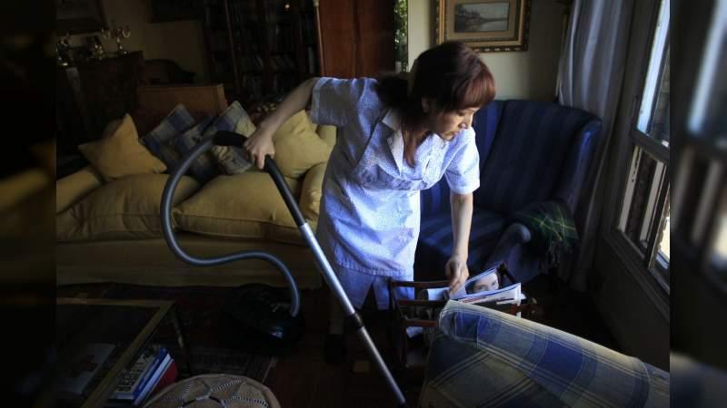 Por pandemia 33% de trabajadoras del hogar han perdido su empleo