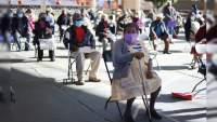 Más de 10 mil adultos mayores reciben primera dosis de vacuna contra COVID-19 en Michoacán