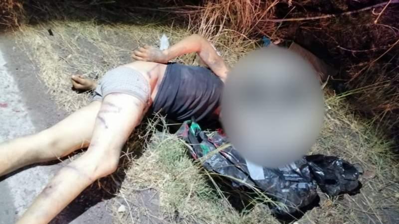 Semidesnudo, maniatado y con impactos de bala localizan un cuerpo en Apatzigán
