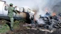 Se desploma avión del Ejército en Veracruz