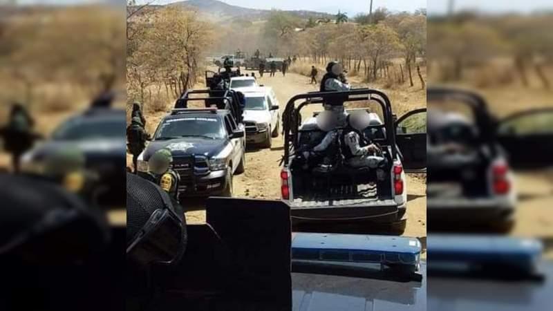 Reportan hasta 10 muertos por enfrentamientos el domingo en Tepalcatepec