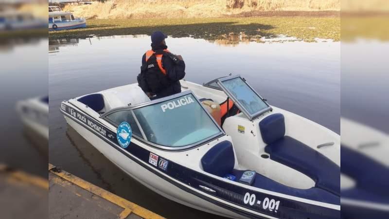 Encuentran a padre e hija perdidos en el Lago de Pátzcuaro