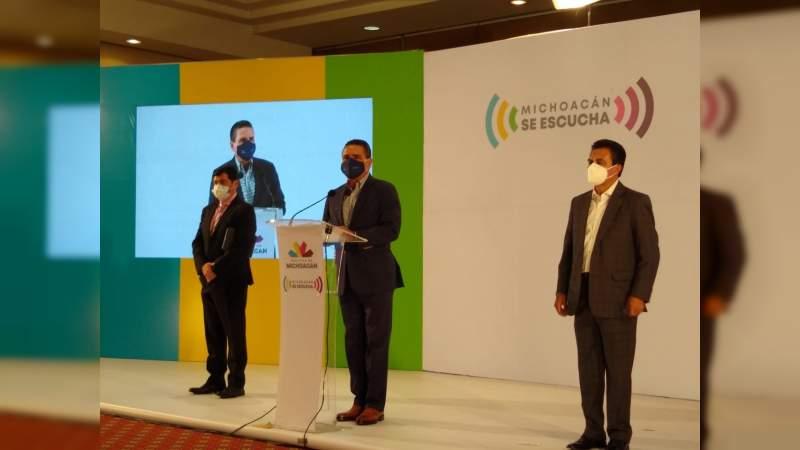 Esta semana llegarán 7 mil 200 vacunas contra Covid-19 a Michoacán