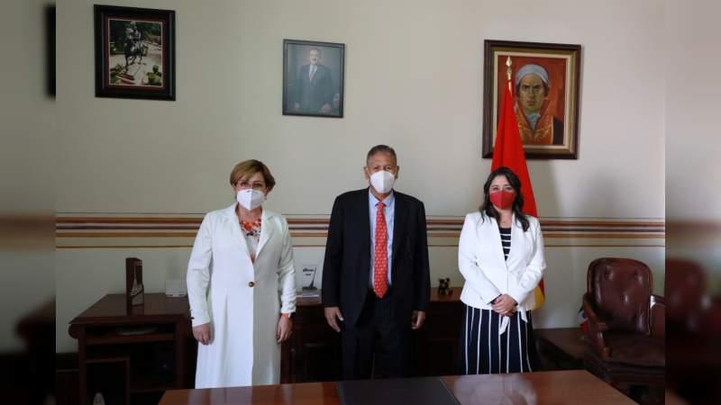Primera mujer como secretaria del Ayuntamiento de Morelia