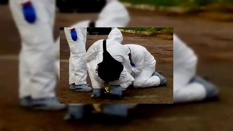 Tiran cadáver de encobijado en calles de Pátzcuaro, Michoacán