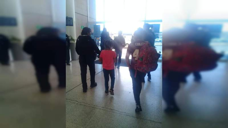 Rescatan en Terminal de Autobuses, cinco niños chiapanecos que viajaban con dos desconocidos