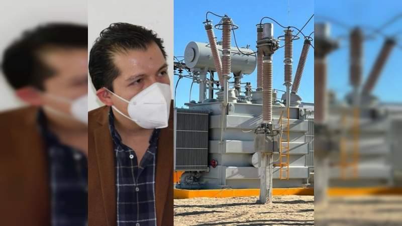 Reforma a Ley de la Industria Eléctrica, necesaria para seguridad nacional: Misael García