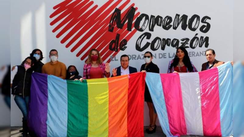 Morena, el único que le ha dado inclusión a la Diversidad Sexual: Maritere Espinoza