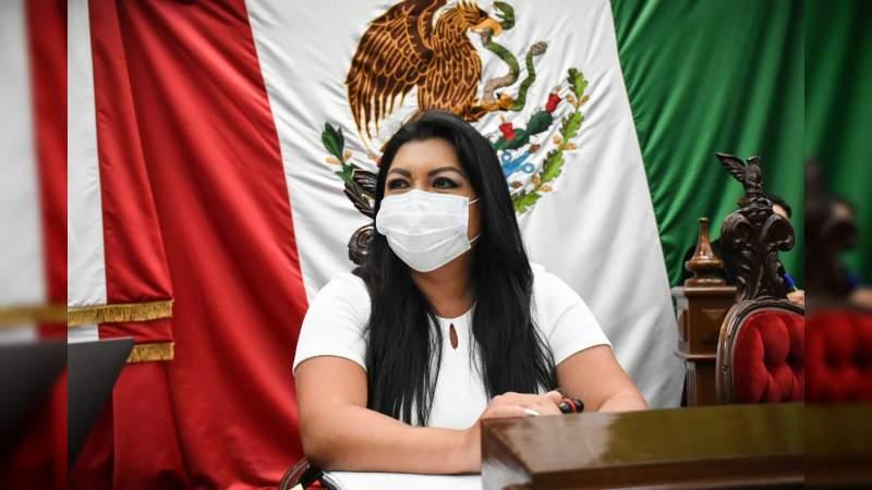 Solicitará Brenda Fraga informe general del estado de salud del gobernador.