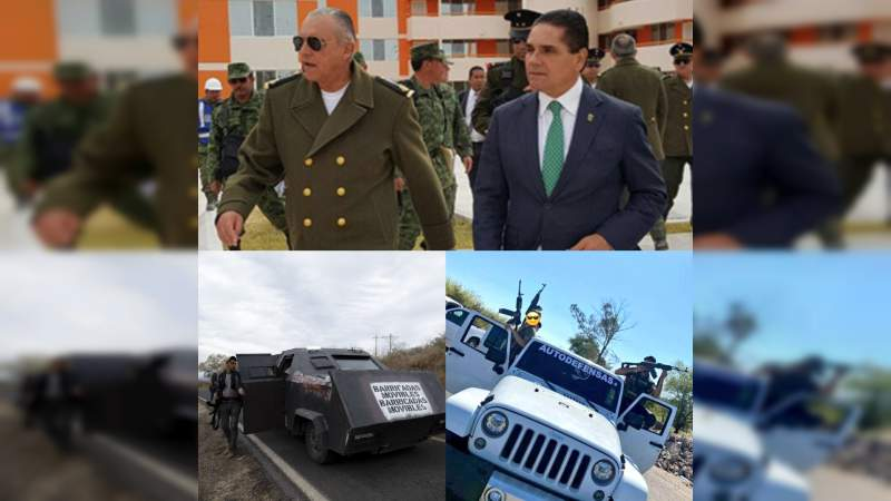Aureoles y Cienfuegos cantaron fin de las autodefensas en 2016; hoy resurgen en todo Michoacán y hasta controladas por el crimen organizado