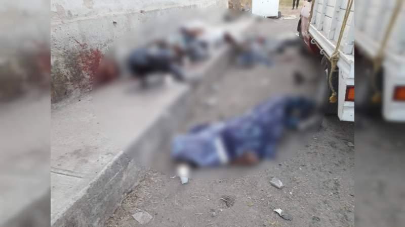 Asesinan a 11 hombres, uno menor de edad, en Tonalá, Jalisco: Hay dos heridos