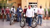 El Alcalde José Luis Cruz Lucatero, entregan equipo a departamentos de CAPAMA y Desarrollo Urbano del Ayuntamiento de Apatzingán