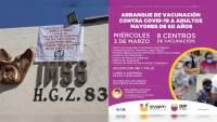 No hay vacunas para médicos en Morelia, pero Ayuntamiento perredista de Uruapan se adjudica vacunación masiva de adultos mayores