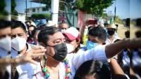 Félix Salgado teme por su seguridad y suspende mitin por protestas de feministas en Guerrero