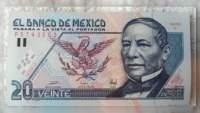 Billete de 20 pesos se vende hasta en 75 mil