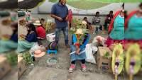 """Comerciantes se la vieron difícil en el """"Domingo de Ramos"""""""