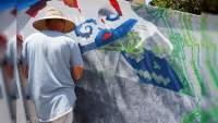 Realizan murales en Avenida Madero Poniente, Artistas urbanos y Gobierno de Morelia