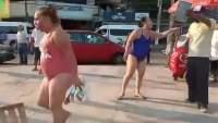 """""""Somos de tepito"""": Turistas se ponen agresivos en Acapulco."""