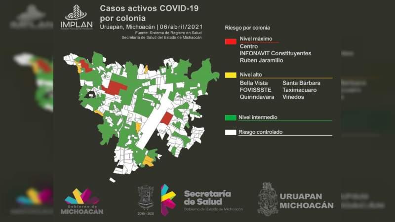 Tres nuevas defunciones por Covid-19 en Uruapan, 443 en 12 meses