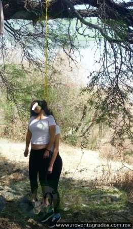 Colgadas de un árbol, hallan muertas a jovencitas desaparecidas, en Jiquilpan