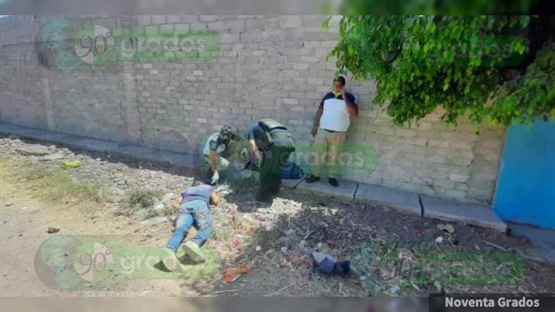 Ejecutan a hombre en Zamora, Michoacán