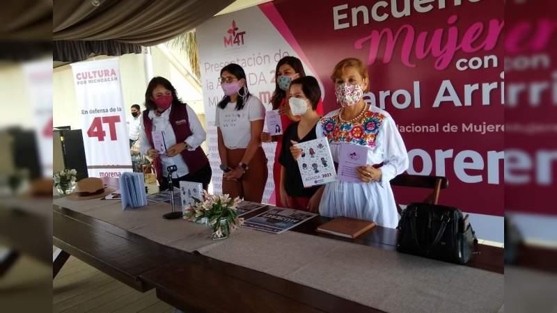 Mujeres morenistas presentan la Agenda de las Mujeres MORENA 2021