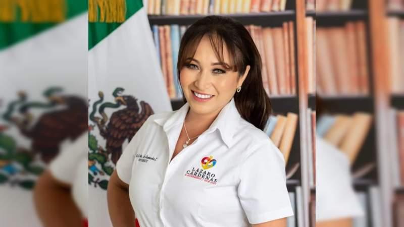 Oficial: Itzé Camacho, candidata a la Presidencia Municipal por Morena