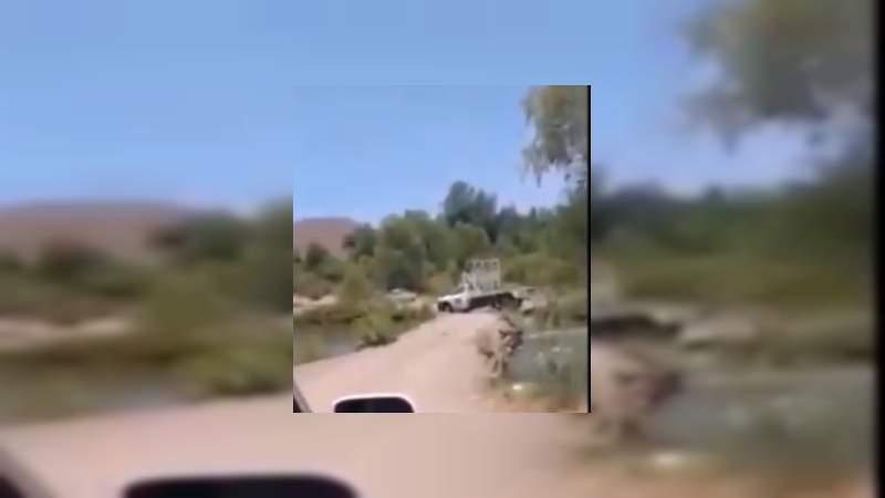 Crimen cava zanjas y bloquea caminos en torno a Aguililla, pese a promesas de seguridad de Silvano Aureoles