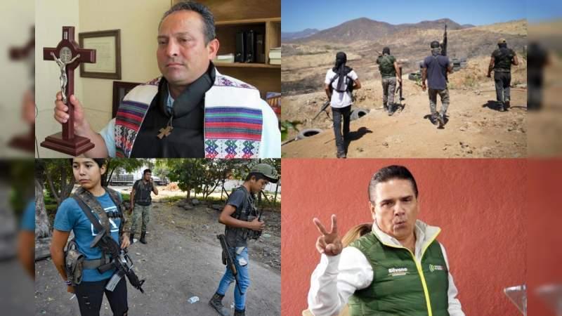 En todo Michoacán está latente la guerra civil; ¡basta de partidos políticos corruptos!: Padre Goyo