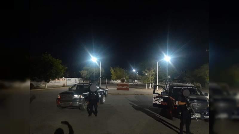 Tiroteo en el Centro de Buenavista; atacan instalaciones policiacas: Se presume captura de operador criminal