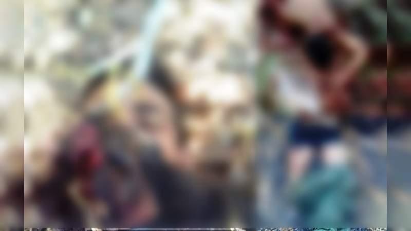 Presumen hallazgo de 5 cuerpos en inmediaciones de Aguililla y Buenavista